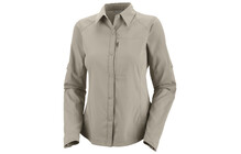 Columbia Women&#039;s Silver Ridge Long Sleeve Shirt fossil